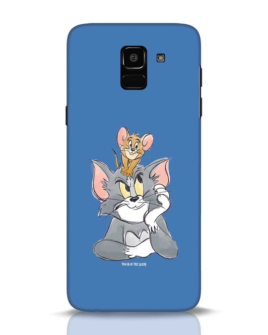 Shop Tom And Jerry Samsung Galaxy J6 Mobile Cover (TJL)-Front