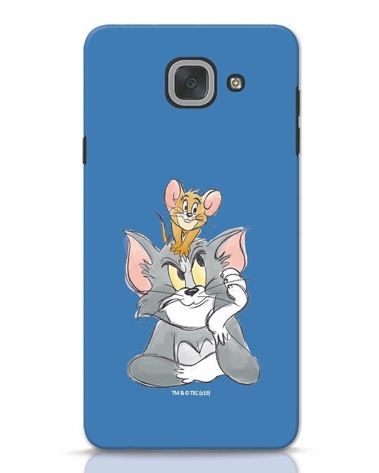 Shop Tom And Jerry Samsung Galaxy J7 Max Mobile Cover (TJL)-Front