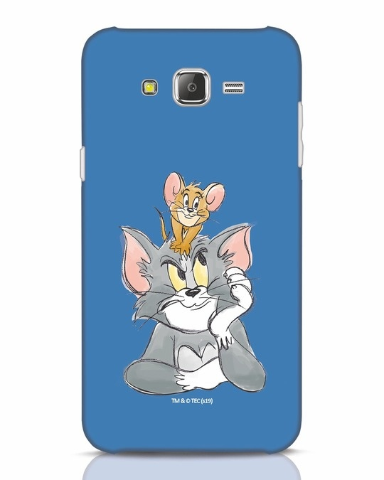 Shop Tom And Jerry Samsung Galaxy J7 Mobile Cover (TJL)-Front