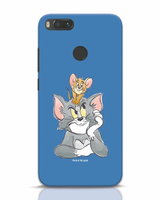 Shop Tom And Jerry Xiaomi Mi A1 Mobile Cover (TJL)-Front