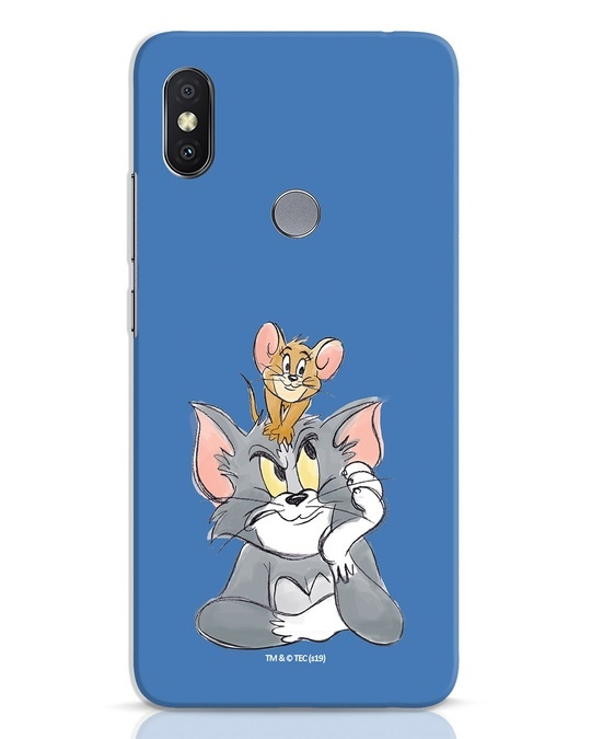 Shop Tom And Jerry Xiaomi Redmi Y2 Mobile Cover (TJL)-Front