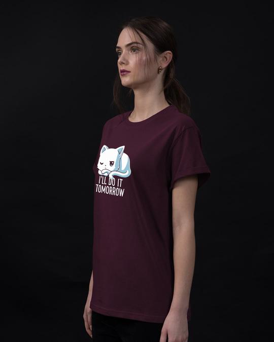 Shop Tomorrow Maybe Boyfriend T-Shirt-Back