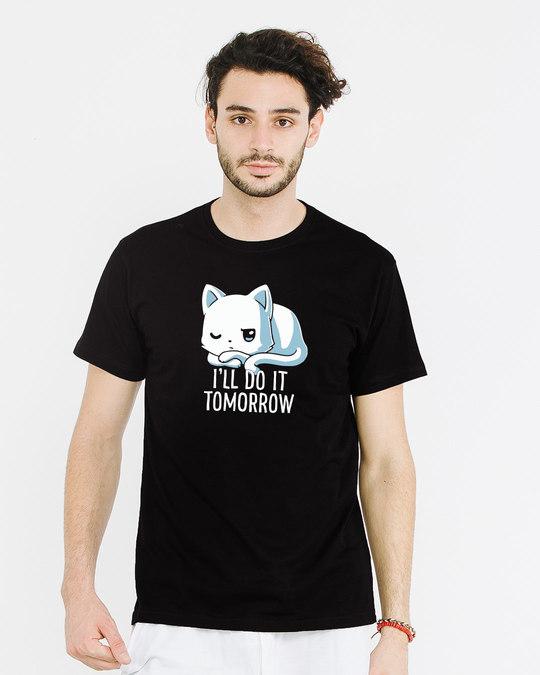 Shop Tomorrow Maybe Half Sleeve T-Shirt-Back