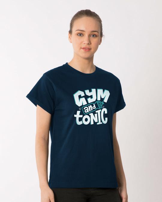 Shop Tonic Boyfriend T-Shirt-Back