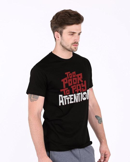 Shop Too Poor Half Sleeve T-Shirt-Full