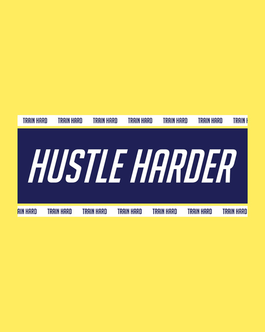 Shop Train And Hustle Half Sleeve T-Shirt-Full