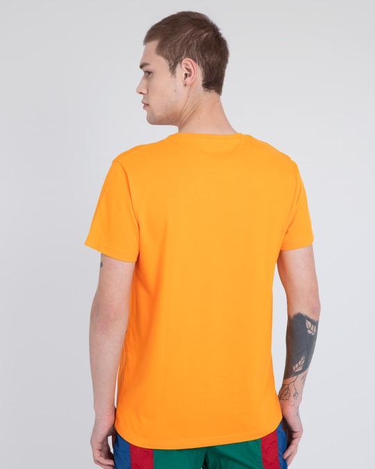 Shop Train and Hustle Half Sleeve T-Shirt-Back