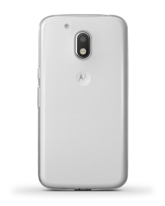 Shop Transparent Moto G4 Plus Silicon Mobile Cover-Back