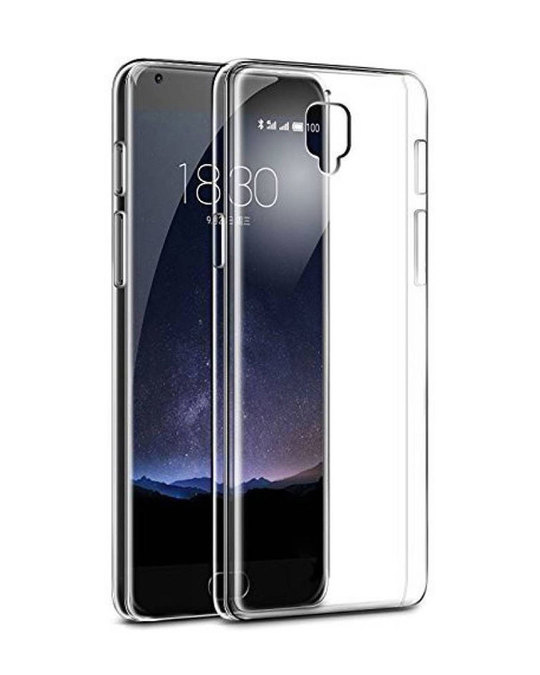 Shop Transparent OnePlus 3 Silicon Mobile Cover-Front