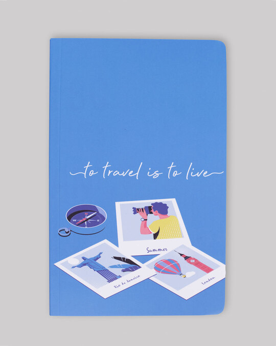 Shop Travel And Live Notebook-Front