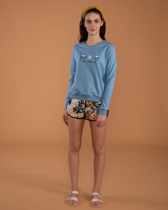 Shop Travel Explore Live Sweatshirt-Full
