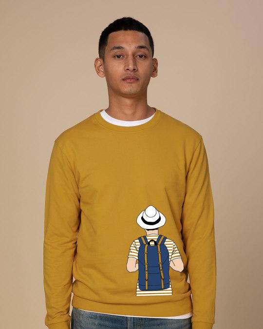 Shop Travel Freak Fleece Light Sweatshirt-Front