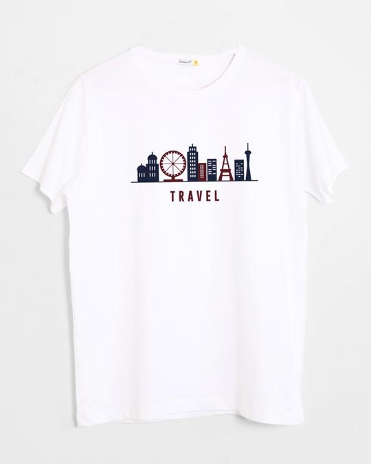 Travel half sleeve t shirt travel mens t shirts best for Travel t shirt design ideas