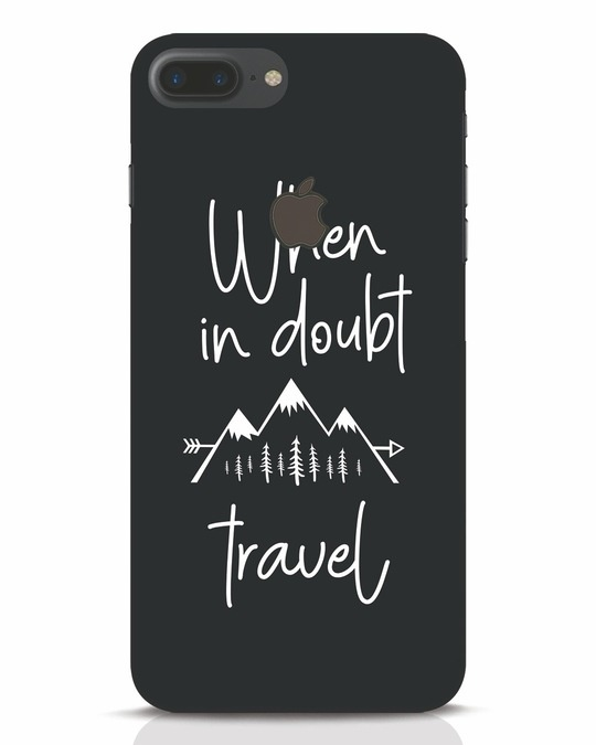 Shop Travel iPhone 7 Plus Logo Cut Mobile Cover-Front