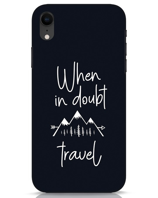 Shop Travel iPhone XR Mobile Cover-Front