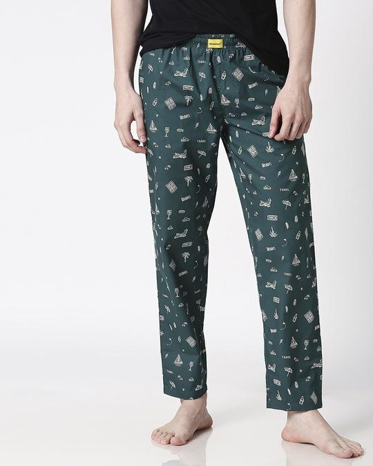 Shop Travel Men's Pyjama-Front