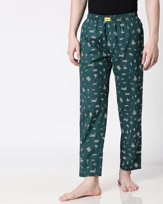 Shop Travel Men's Pyjama-Back