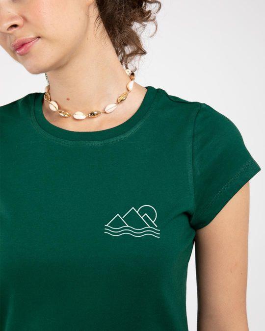 Shop Travel Minimal Single Jersey T-Shirt Dress-Front