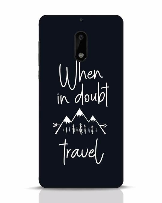 Shop Travel Nokia 6 Mobile Cover-Front