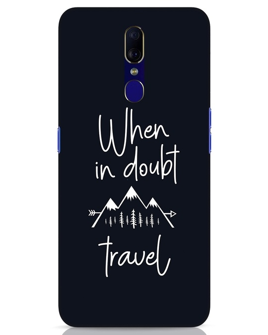 Shop Travel Oppo F11 Mobile Cover-Front