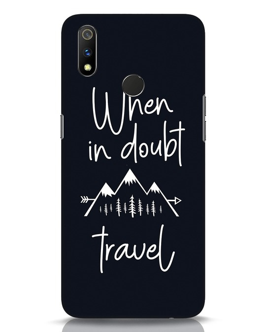 Shop Travel Realme 3 Pro Mobile Cover-Front