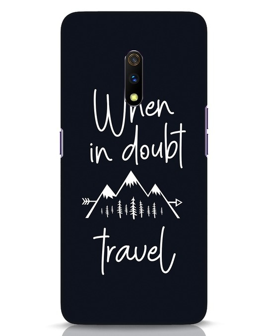 Shop Travel Realme X Mobile Cover-Front