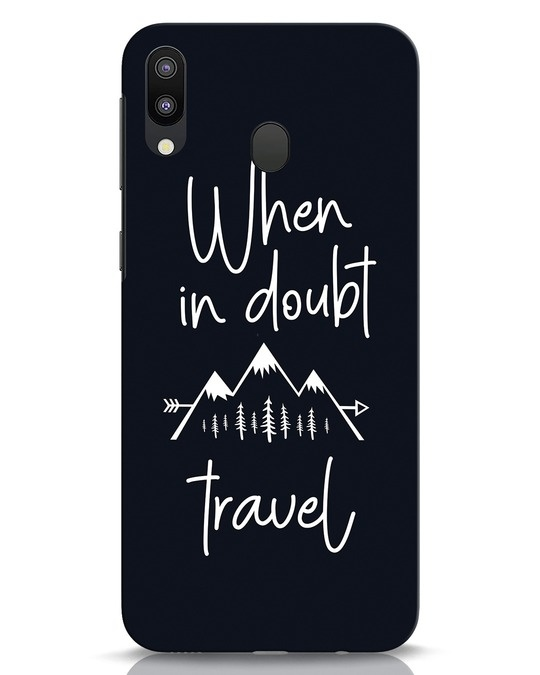 Shop Travel Samsung Galaxy M20 Mobile Cover-Front