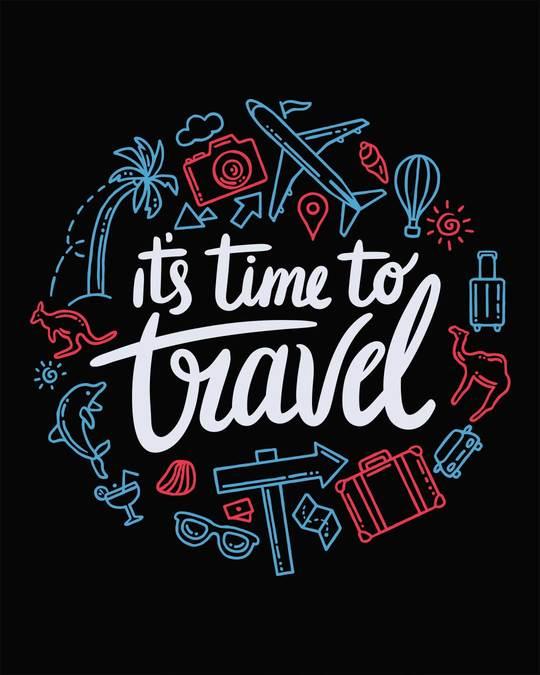 Shop Travel Time Full Sleeve T-Shirt