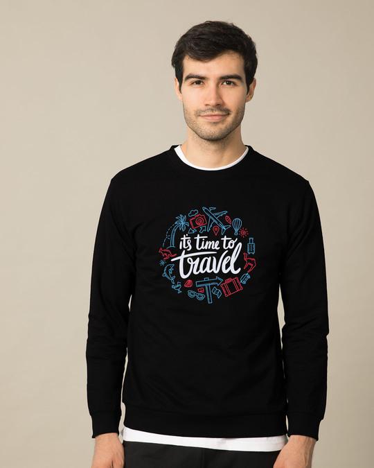 Shop Travel Time Sweatshirt-Front