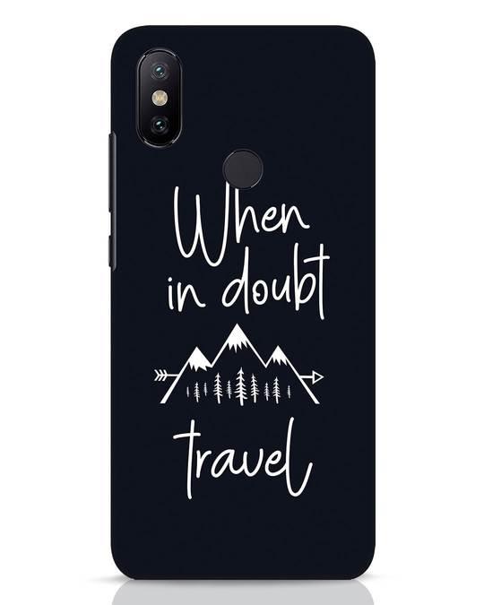 Shop Travel Xiaomi Mi A2 Mobile Cover-Front