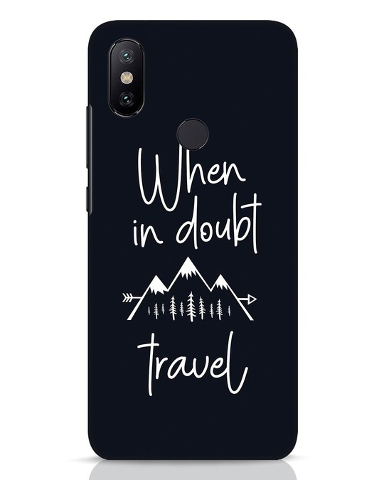 Shop Travel Xiaomi Mi A2 Mobile Cover-Front