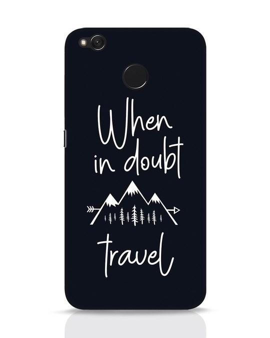 Shop Travel Xiaomi Redmi 4 Mobile Cover-Front