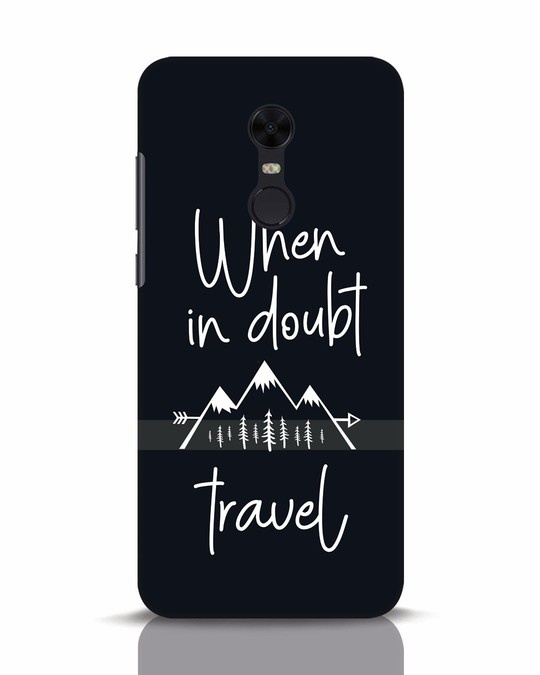 Shop Travel Xiaomi Redmi Note 5 Mobile Cover-Front