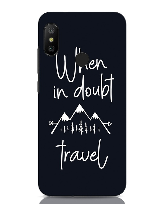 Shop Travel Xiaomi Redmi Note 6 Pro Mobile Cover-Front