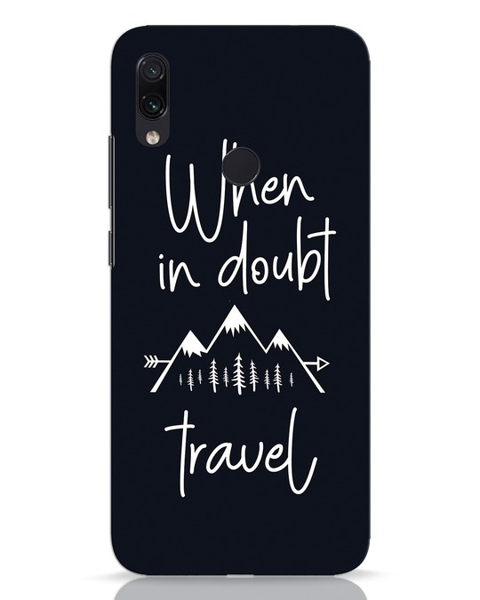 Shop Travel Xiaomi Redmi Note 7 Pro Mobile Cover-Front