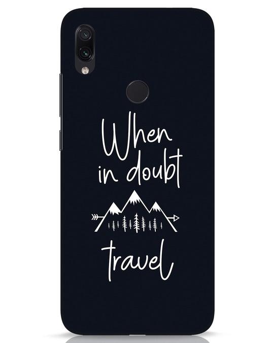 Shop Travel Xiaomi Redmi Note 7s Mobile Cover-Front