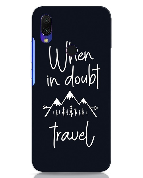 Shop Travel Xiaomi Redmi Y3 Mobile Cover-Front