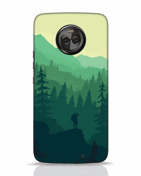 Shop Trek Moto X4 Mobile Cover-Front