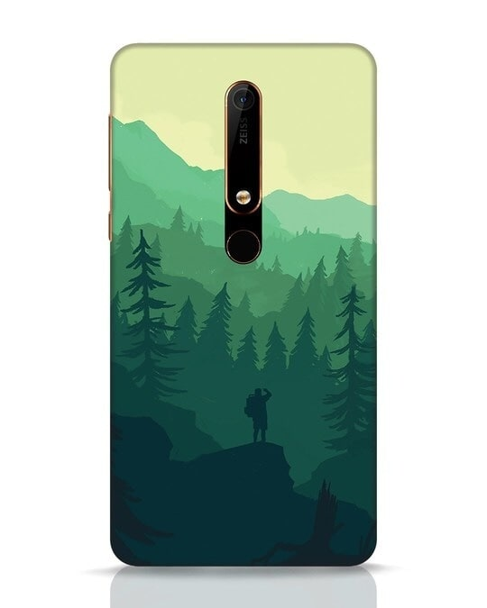 Shop Trek Nokia 6.1 Mobile Cover-Front