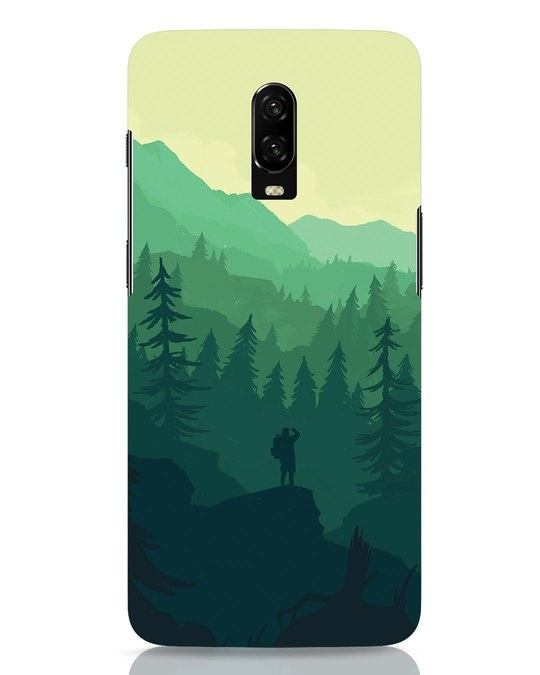 Shop Trek OnePlus 6T Mobile Cover-Front
