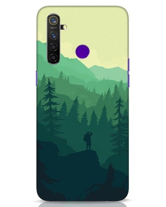 Shop Trek Realme 5 Pro Mobile Cover-Front