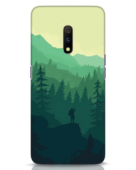 Shop Trek Realme X Mobile Cover-Front
