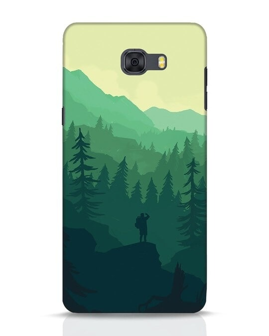 Shop Trek Samsung Galaxy C9 Pro Mobile Cover-Front