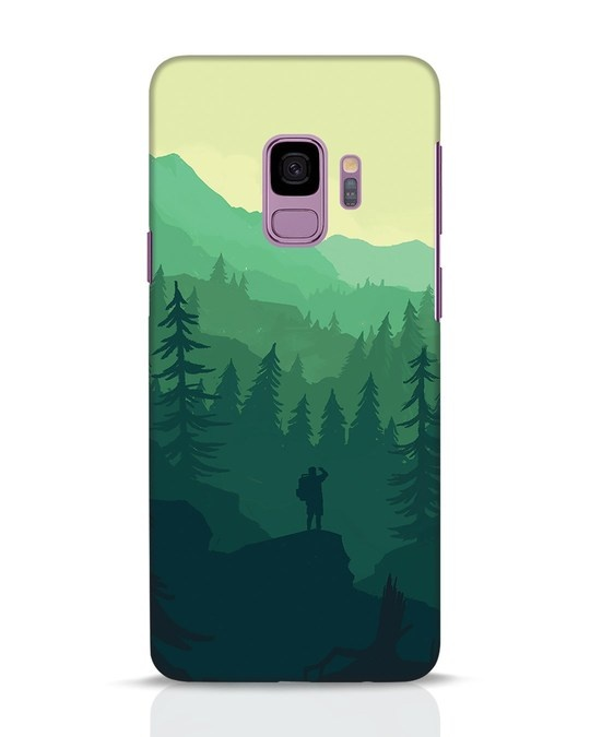Shop Trek Samsung Galaxy S9 Mobile Cover-Front