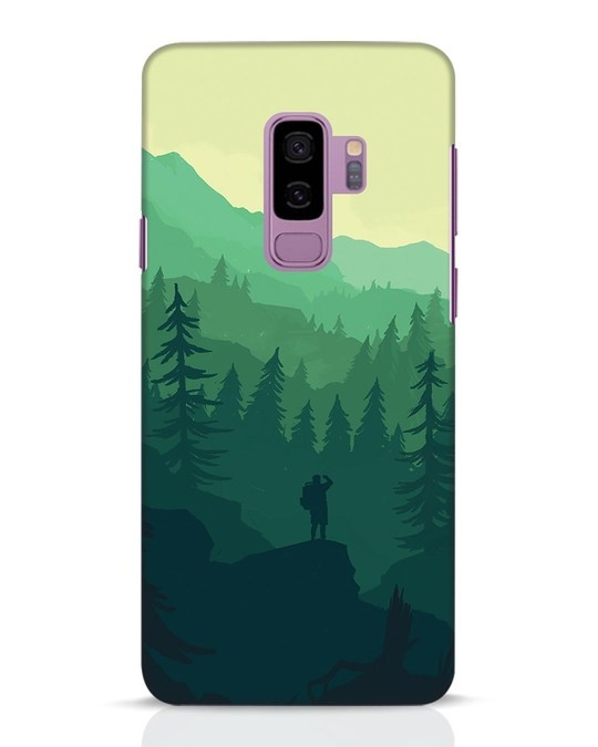 Shop Trek Samsung Galaxy S9 Plus Mobile Cover-Front