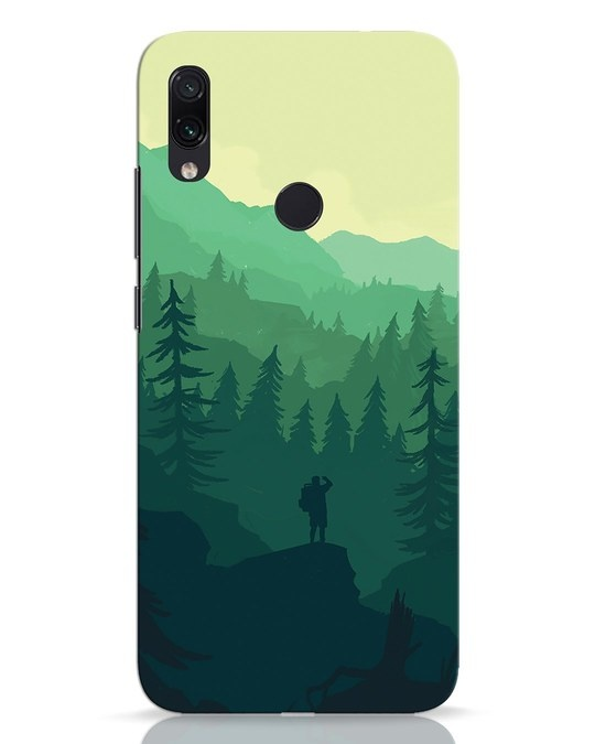 Shop Trek Xiaomi Redmi Note 7 Pro Mobile Cover-Front