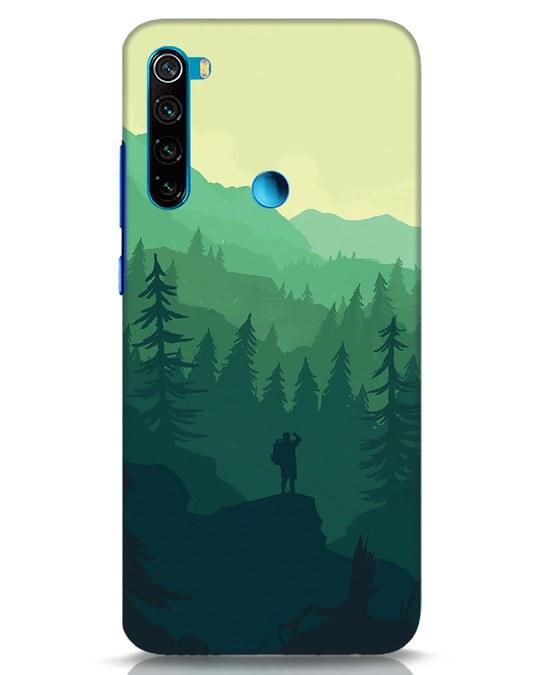 Shop Trek Xiaomi Redmi Note 8 Mobile Cover-Front