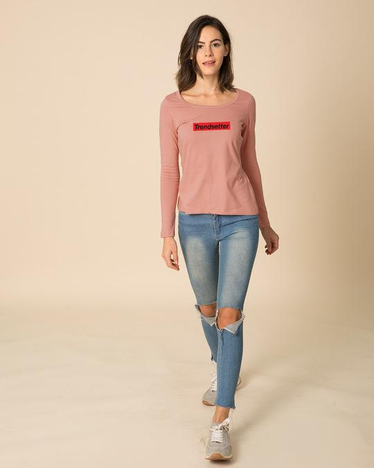 Shop Trendsetter Scoop Neck Full Sleeve T-Shirt-Design