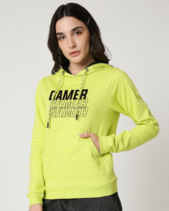 Shop Tri Gamer 2.0 Fleeces Hoodies-Front