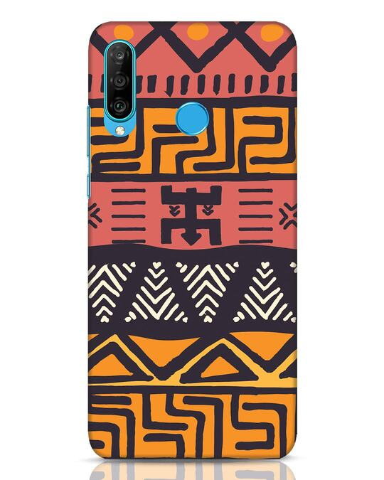 Shop Tribal Ethnic Huawei P30 Lite Mobile Cover-Front